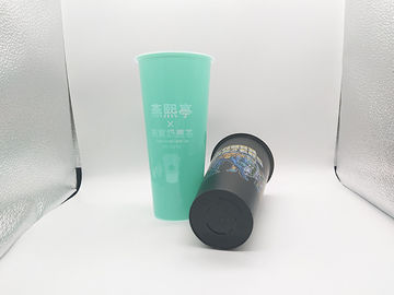 700ml Printed Plastic Cups OEM Custom IML In Mold Label BSCI / FDA Certification