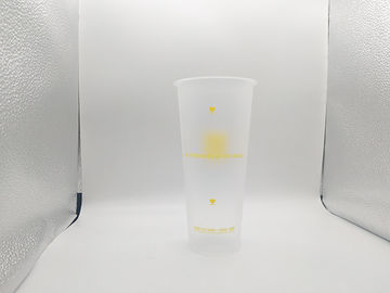 OEM / ODM PP Plastic Cup 1.2mm Thickness In-Mold Labeling Printing