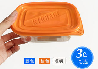 Kitchen Disposable Plastic Containers With Lids , Disposable Take Away Food Containers