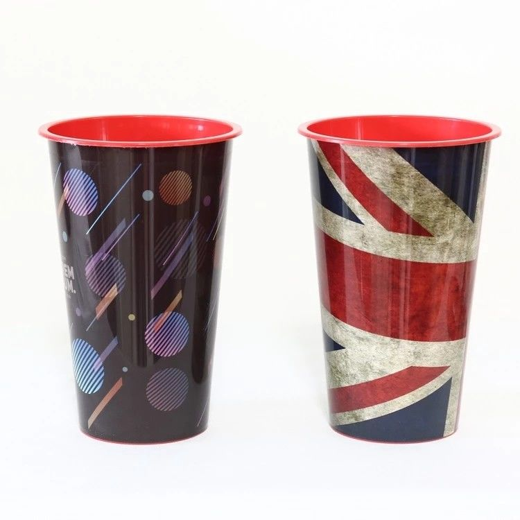 FDA 3D Lenticular Cup With Lid , Trade Assurance Single Wall Durable Plastic Tumbler Cups