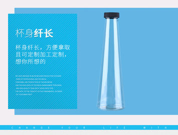 Proof Plastic Juice Bottles 350ml / 400ml 67.5*29*58 cm Carton Size