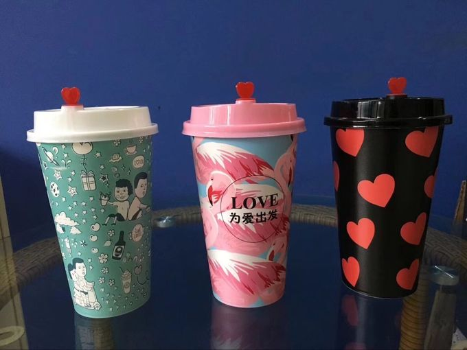Body Stiffness Injection Molding Promotional Plastic Cup For Drinking Water Boba